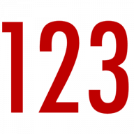 123. best 123 with 123. clip art graphic of abc and with a pencil in